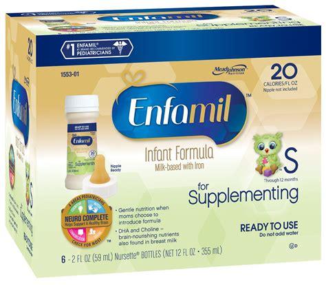 Enfamil For Supplementing Nursette Bottles