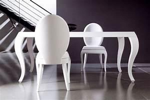 chaise salle a manger quelle couleur convient le mieux With salle À manger contemporaineavec table chaise design