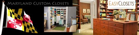 easy closet storage design baltimore maryland