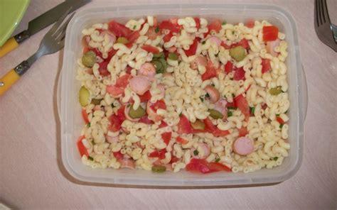 recette salade de p 226 tes 233 conomique et rapide gt cuisine 201 tudiant