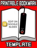 bookmark template worksheets teaching resources tpt