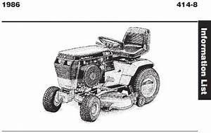 Tractor 1986 414-8 Wiring Pdf - 1985-1990
