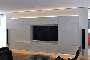 Moderne Tv Möbel : wohnzimmer tv wand modern ~ Michelbontemps.com Haus und Dekorationen