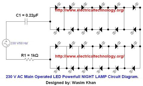 Main Operated Led Powerful