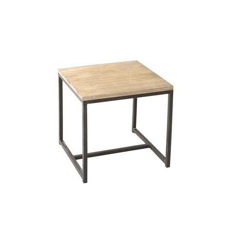 meuble bout de canape bout de canap 233 carr 233 paulownia meubles macabane meubles et objets de d 233 coration