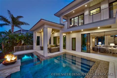 rear elevation  sater design collections luxury