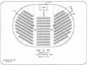 Tent Seating Diagram  U0026 Pole Tent 30x40 Outline Seating For