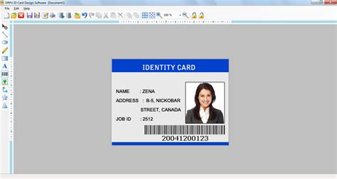 id card design software bulk personalized customized badge