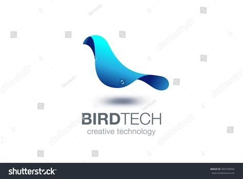 Abstract Bird Logo Design Vector Template Creative Stock Unusual Size Business Cards Travel Agency Samples Bookkeeper Engraved Uk Acti Labs Card For Job Seekers Architect Textured