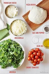 Arugula Salad Pizza - The Chic Site