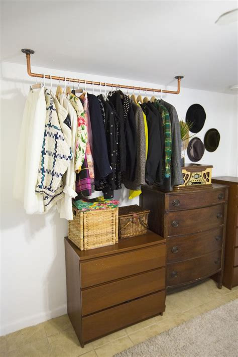 Wardrobe For Hanging Clothes by You Can Conquer Your Clothing Storage Without A Closet