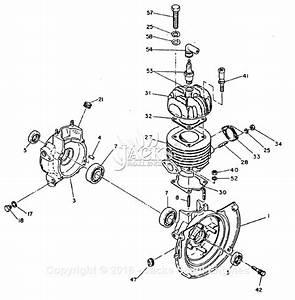 Robin  Subaru Ec10d Wacker Parts Diagram For Crankcase  Cylinder