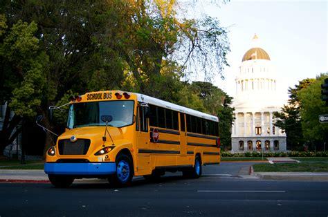 Lion Bus Shows Off The New eLion Electric School Bus ...