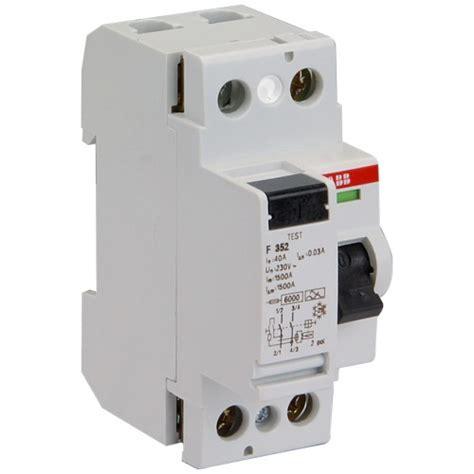 disjoncteur diff 233 rentiel abb tous les produits interrupteurs disjoncteurs differentiels prixing