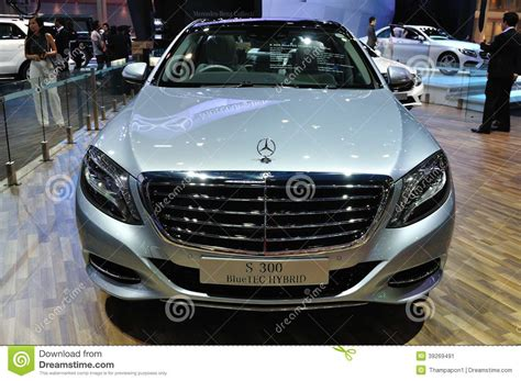 New Mercedes Benz S300 Bluetec Hybrid Editorial Photo