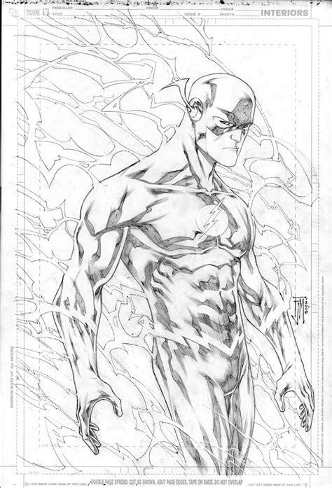 dc comics flash coloring pages   print