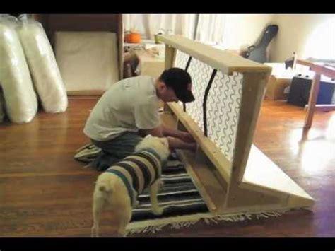 how to assemble ikea sofa bed ikea kivik sofa assembly yes youtube