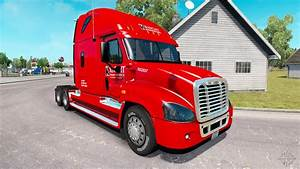 Skin On Knight Truck Freightliner Cascadia For American