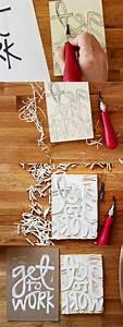 Stempel Selber Gestalten : 1001 ideen und inspirationen wie sie stempel selber machen basteln pinterest pyssel dali ~ Eleganceandgraceweddings.com Haus und Dekorationen