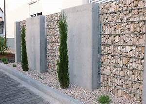 Zäune Beton Sichtschutz : gabionen und beton sichtschutz garten pinterest ~ Sanjose-hotels-ca.com Haus und Dekorationen