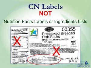 child nutrition label northwestern ohio community action