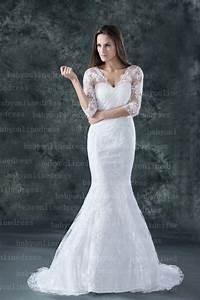 2017 new lace wedding dresses sheath column half sleeve v With column sheath wedding dresses