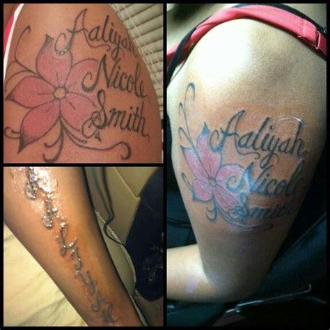 tattoo idea  aaliyah nicole smith tattoo ideas