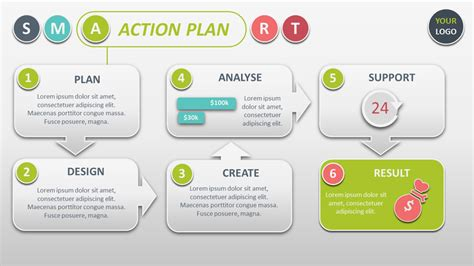 smart project management powerpoint template  smart