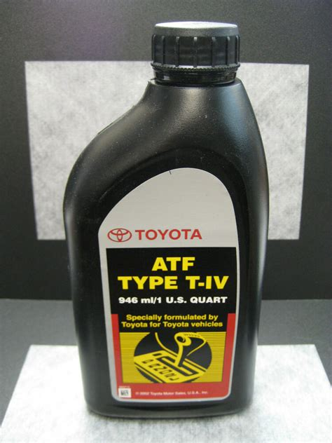 type  iv automatic transmission fluid  toyota lexus
