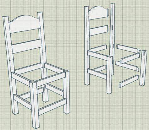 fabrication d une chaise en bois forum association les copeaux fabrication plan de chaises