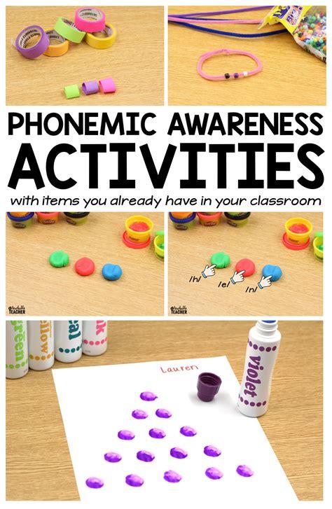 phonological awareness activities preschool phonemic awareness activities segmenting and blending 31610