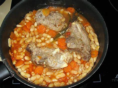 cuisiner le collier d agneau recette de collier d 39 agneau aux mogettes de vendée