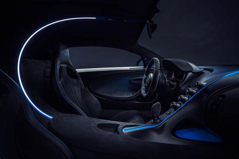 Deliveries will start in late 2021, but it's too late to buy one if you haven't already. Bugatti Chiron Pur Sport Interior Photos   CarBuzz