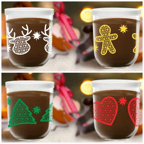 pot de nutella noel no 235 l ensemble avec du chocolat 233 videmment bulles de flo