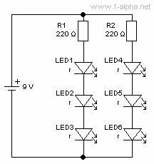 f alphanet experiment 7 mixed circuits With led circuit series sample series circuit