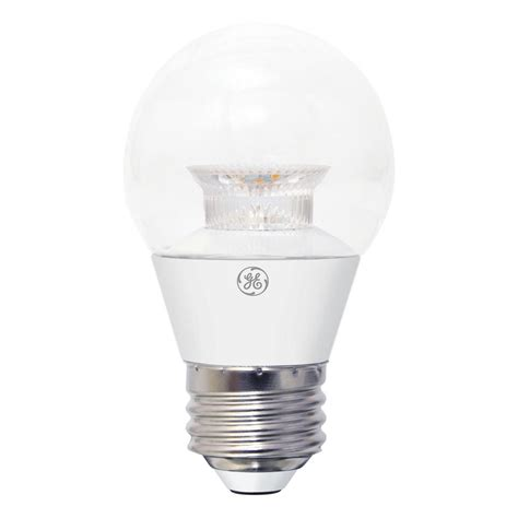 ge 60w equivalent daylight b11 blunt tip clear candelabra
