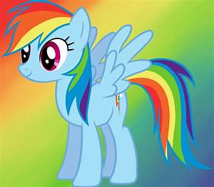 Image Gallery rainbow pony