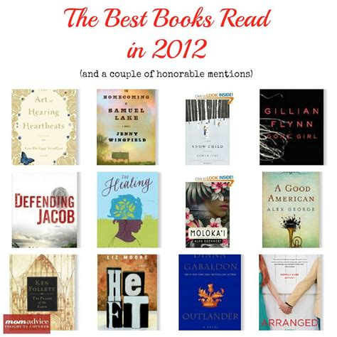 The Best Books Read In 2012 Momadvice
