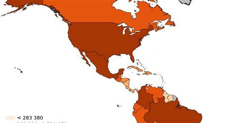 GEOGRAFIA Newton Almeida: América : Crescimento Demográfico