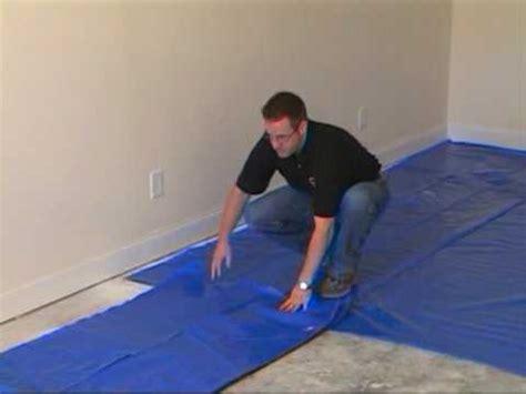 install  moisture barrier  concrete subfloor