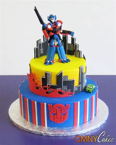 28 Best Transformers Cakes Images On Pinterest