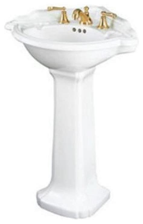 Corner Pedestal Bathroom Sinks by St Creations Barrymore Corner Pedestal Bathroom