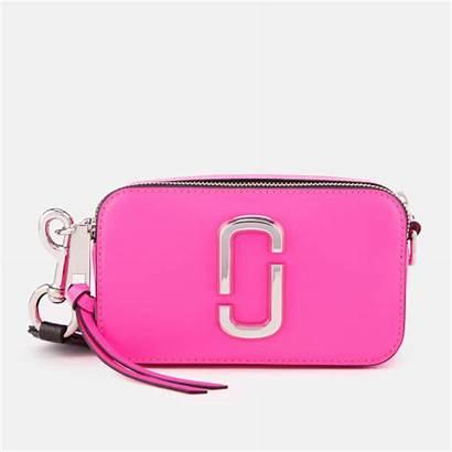 Marc Jacobs Pink Snapshot Bag Cross Bright