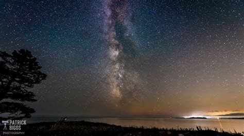 Milky Way Over Pemaquid Point