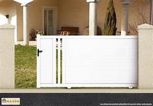 Portail Coulissant 4m Castorama : portails coulissants pvc portail battant aluminium m sfrcegetel ~ Melissatoandfro.com Idées de Décoration