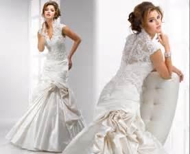 collared wedding dress lace v neckline wedding dress with high collar sang maestro