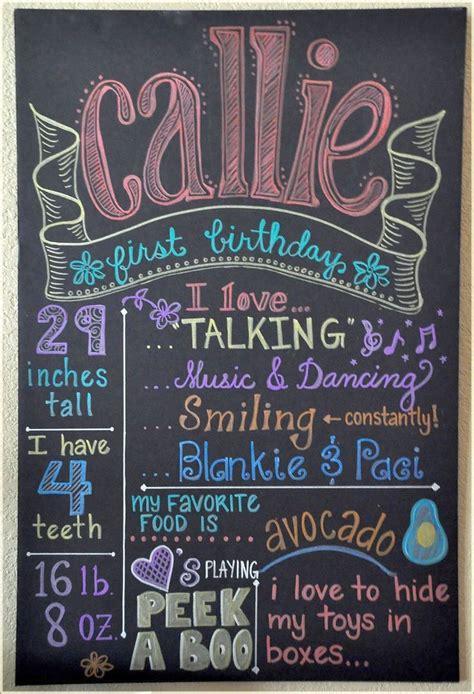 birthday chalkboard chalkboard writing ideas with colorful chalks