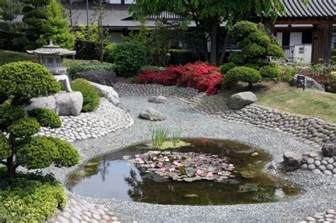 Deko Japanische Gärten by Die Japanischer Garten Bambus Brunnen Startseite Design