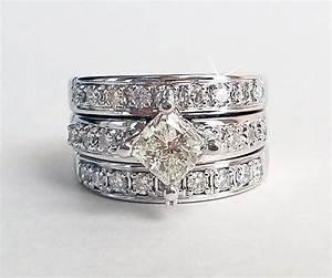 Stacking princess diamond wedding ring redesign ambrosia for Redesign wedding ring
