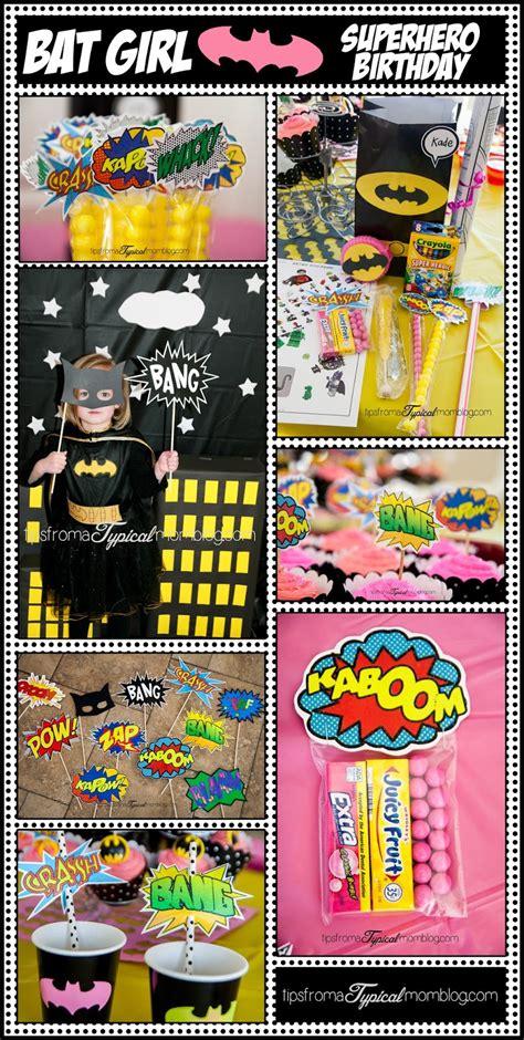 superhero girl birthday party ideas   printables